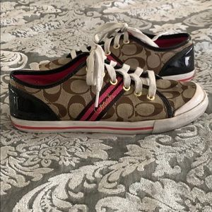 Coach limited edition shoes